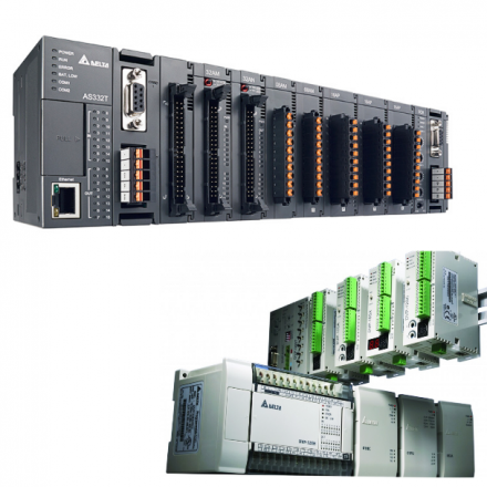 PLC, programozható logikai vezérlők, bővítőmodulok.